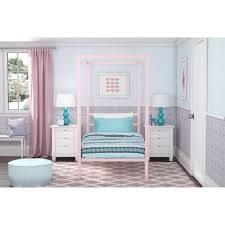dhp modern metal canopy bed pink walmart com previous idolza