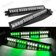 green led emergency dash light led lights decor