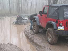 jeep stuck in mud ok auto rock krawl 2010 rausch creek off road park pa part 2