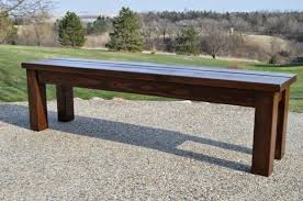 outdoor wood bench plans bench ideas