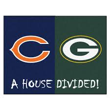 Nfl Area Rugs Fanmats Nfl 49ers Raiders House Divided 2 Ft 10 In X 3 Ft