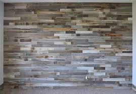 box of 30 square reclaimed wood wall paneling