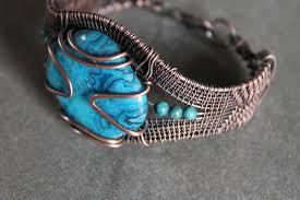 weave bracelet images Pdf tutorial wire weave blue crazy lace agate stone bracelet jpeg