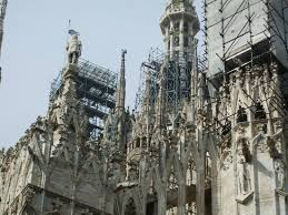 milan cathedral floor plan some areas under construction at the top picture of duomo di