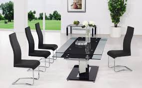 table famous extendable glass dining tables sydney important