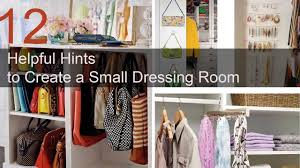 small dressing room design