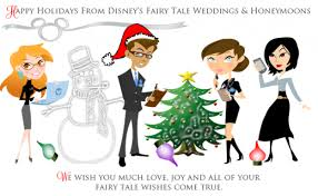 happy holidays from our family to yours disney weddings
