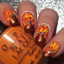 Nail Art Thanksgiving 15 Best Turkey Nail Art Designs Ideas U0026 Trends 2015
