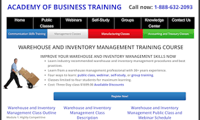 warehouse management training 50 top resources u2013 camcode