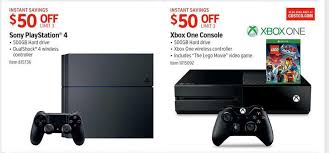 black friday ps4 get 50 off xbox one ps4 with costco u0027s black friday 2015 deals