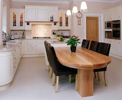 kitchen layout ideas with island red oak raised panel wax finished cabinet stone countertops mix