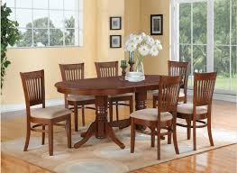 kitchen table oval 6 piece sets reclaimed wood 2 seats maple