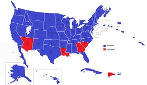 Create Electoral Map Image United States Electoral Map 1964 Alternity Dallas
