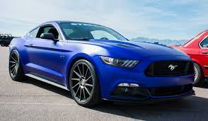 Mustang Gt 2015 Black Matte Blue 2015 Ford Mustang Gt Mustang