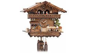cuckoo clock chalet style 30cm by hekas blackforest u0026 beyond