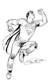 superman sketch september 22 jamaligle deviantart