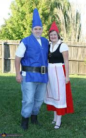 gnomeo juliet homemade halloween costume couples