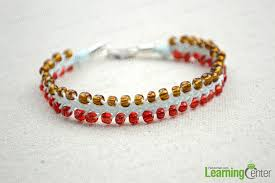 diy woven bracelet images How to weave diy 3 strand braid friendship bracelet with seed jpg