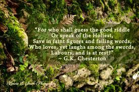 first thanksgiving in heaven poem gk chesterton malcolm guite