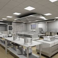 Comercial Kitchen Design by Safe Food Preparation In Well Designed Commercial Kitchen