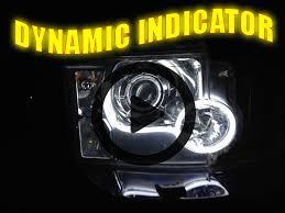 nissan skyline r34 xenon headlights flexible lightbar style drl led dynamic indicator for nissan