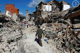 Earthquake World Map by Damage Maps Reveal Extent Of Destruction From Italy Earthquake