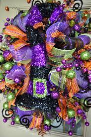mesh halloween wreaths kristen u0027s creations halloween mesh wreath