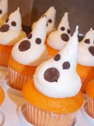 Halloween Cupcakes Ghost Little Blonde Cakes U2013