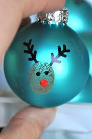 bit funky 20 minute crafter reindeer thumbprint ornaments