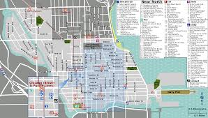 Chicago Attractions Map File Near North Map Png Wikimedia Commons