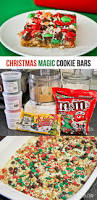 Easy Christmas Appetizers Finger Foods Christmas Magic Cookie Bars Magic Cookie Bars Bowls And Bar