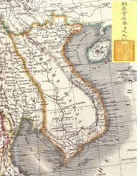 Map Of Mexico 1821 Why 40 Of Vietnamese People Have The Same Last Name Atlas Obscura