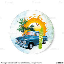 vintage surf car vintage cuba beach car stickers dec 8 2016 best junkydotcom