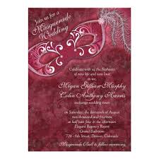 masquerade wedding invitations personalized masquerade wedding invitations custominvitations4u