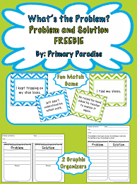 Elements Of Fiction Worksheet What U0027s Your Problem Teaching Problem And Solution
