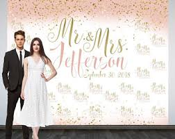 wedding backdrop personalized wedding backdrop etsy