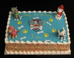 paw patrol birthday cake glasgow image inspiration of cake and