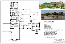 Home Floor Plans 5000 Square Feet Floor Plans To 5000 Sq Ft 7500 Home Plan 4515 120 Luxihome
