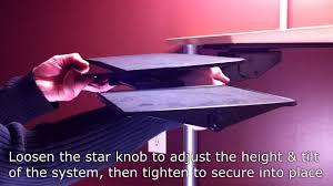 Mouse Platform Under Desk Ergonomic Keyboard Tray System Under Desk Installation Guide