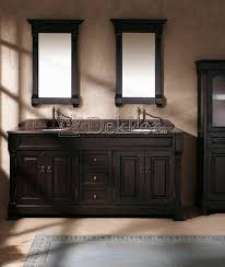 bathroom furniture wooden double bathroom vanity bosco 1820 mahogany