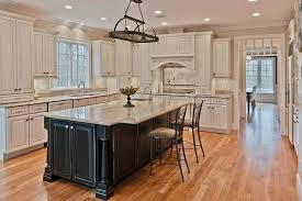 traditional kitchens with islands traditional kitchen with hardwood floors undermount sink raised