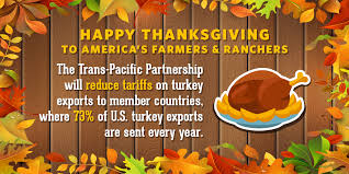 this year ustr is thankful for the trans pacific partnership