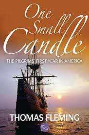 the pilgrims book one small candle the pilgrims year in america
