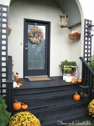 outdoor decorating ideas fall front porch outdoor decorating ideas clean and scentsible