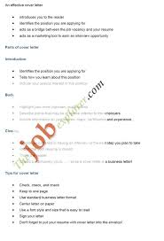cover letter samples for unadvertised job openings professional
