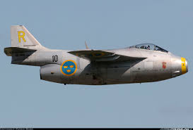 Tiny Planes Saab J29f Tunnan Untitled Aviation Photo 1536302 Airliners Net