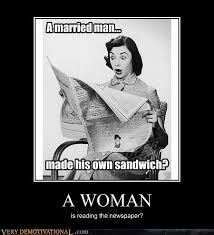 Woman Kitchen Meme - a woman very demotivational demotivational posters very