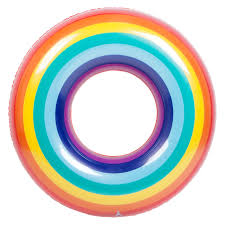 sunnylife rainbow pool ring christmas gift ideas for kids tiny