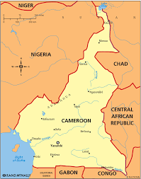 Map Of Cameroon Cameroon Map Images Reverse Search