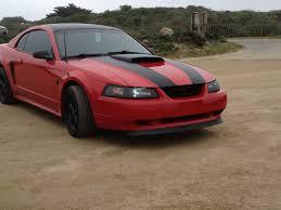 1995 Mustang Black Gt Hood Scoop How To Mustang Evolution